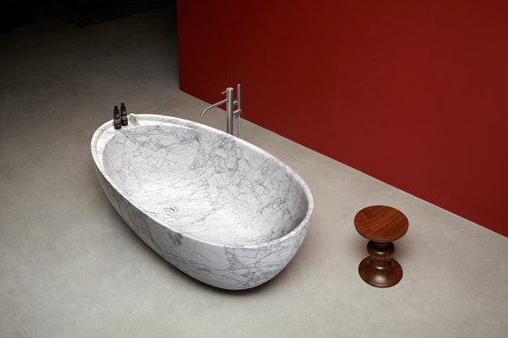 Eclipse In Marble by antoniolupi | Bathtubs