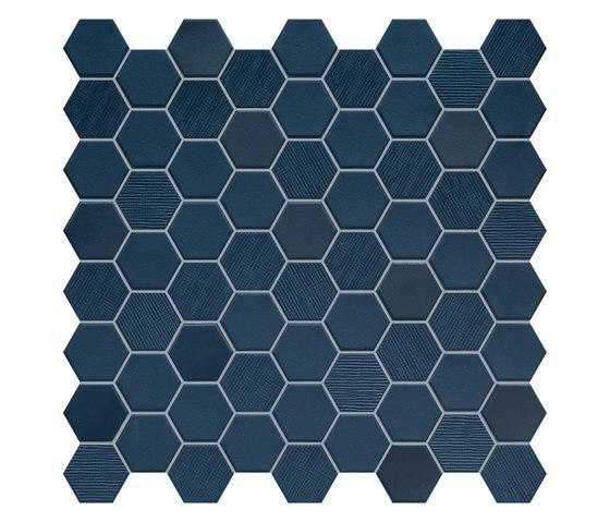 Hexa | Mosaic Deep Navy de TERRATINTA GROUP | Mosaïques céramique