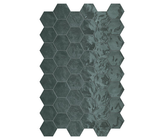 Hexa | Wall Green Echo di TERRATINTA GROUP | Piastrelle ceramica