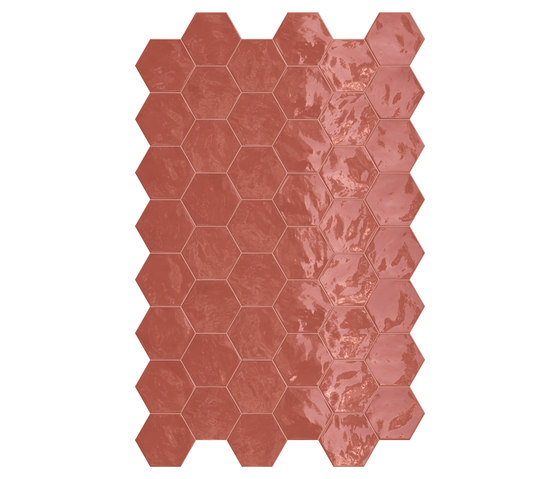 Hexa | Wall Cherry Pie von TERRATINTA GROUP | Keramik Fliesen