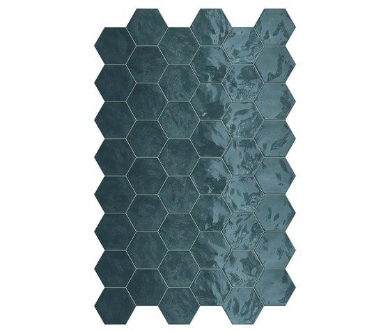 Hexa   Wall Ocean Wave de TERRATINTA GROUP   Carrelage céramique