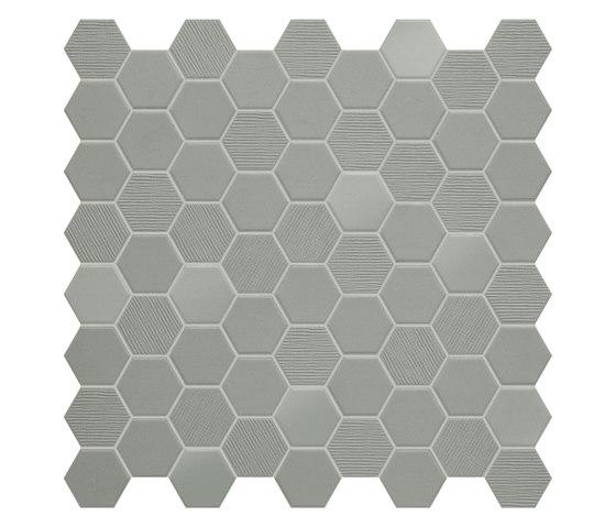 Hexa | Mosaic Wild Sage by TERRATINTA GROUP | Ceramic mosaics