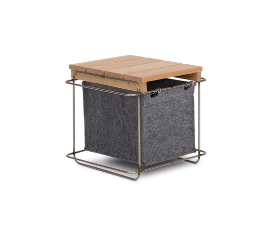 Grit / Stool by bartmann berlin | Storage boxes