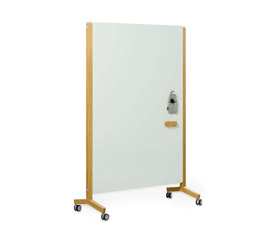 Round20 Whiteboard Wood de Cascando | Chevalets de conférence / tableaux