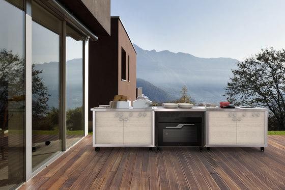 Cooking carts   Wok & Induction top station de La Tavola   Hornos a vapor
