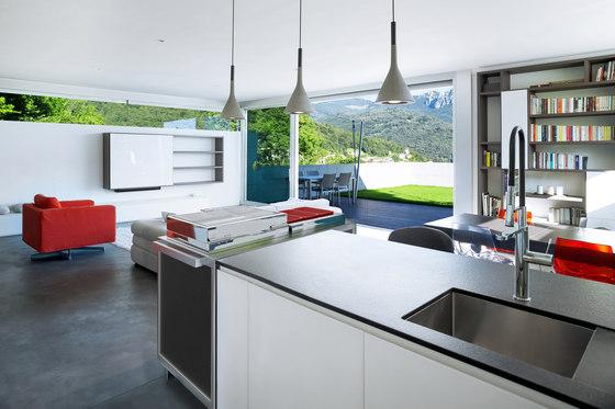 Warming & Cooling tops station by La Tavola | Modular kitchens