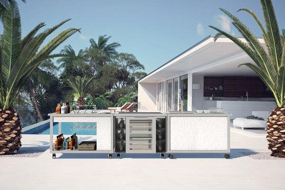 Cart extension | Wine cellar unit by La Tavola | Modular kitchens