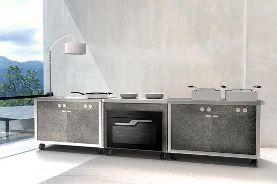 Cart extension | Convection oven unit by La Tavola | Modular kitchens