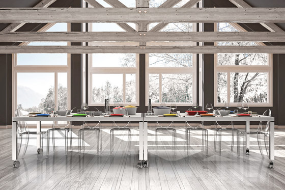 Warming & Cooling Dining table de La Tavola | Tables de repas