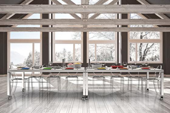 Secret warming dining table di La Tavola | Tavoli pranzo
