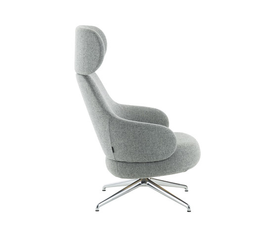 Pillo easy chair high back von Swedese   Sessel