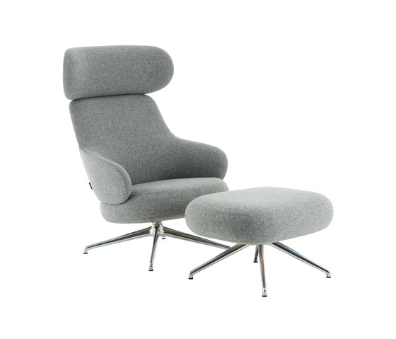 Pillo easy chair high back by Swedese | Armchairs