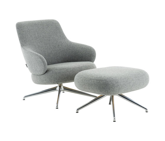 Pillo easy chair low back by Swedese | Armchairs