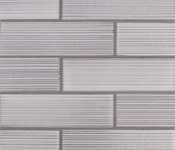 2x8 Brownstone Raked by Pratt & Larson Ceramics | Ceramic tiles