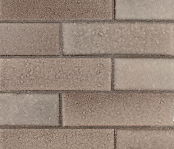 2x8 Brownstone Brick de Pratt & Larson Ceramics | Carrelage céramique