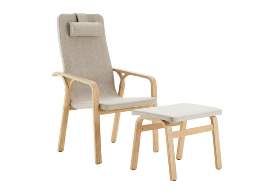 Mino easy chair high back by Swedese | Armchairs