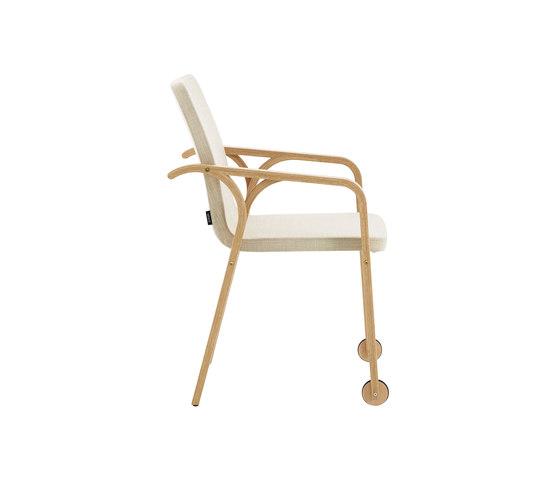 Mino armchair with wheels de Swedese | Sillas