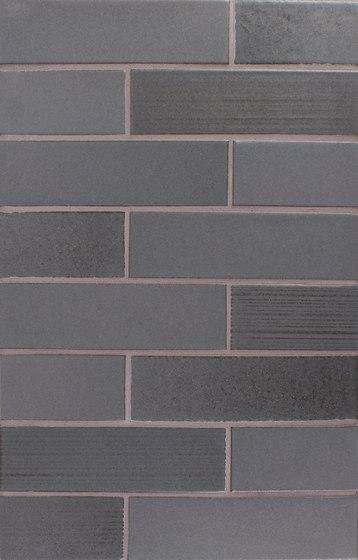 Brownstone 2x8 Smooth | Brick | Raked de Pratt & Larson Ceramics | Carrelage céramique