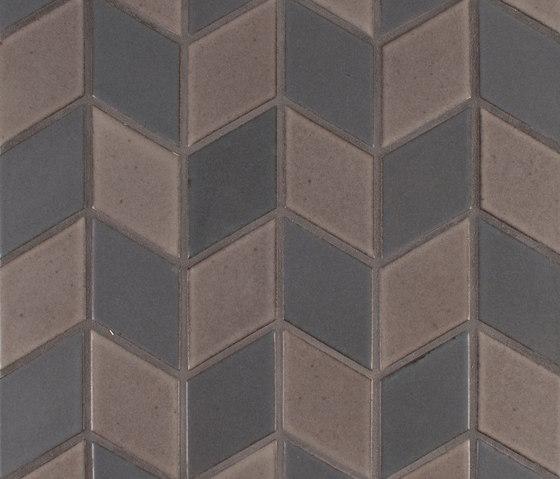 Brownstone Diamond Pattern #2 de Pratt & Larson Ceramics | Carrelage céramique