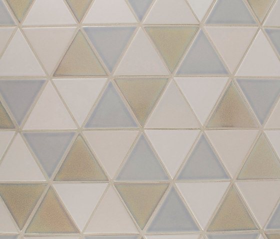Small Equilateral Triangle by Pratt & Larson Ceramics | Ceramic tiles