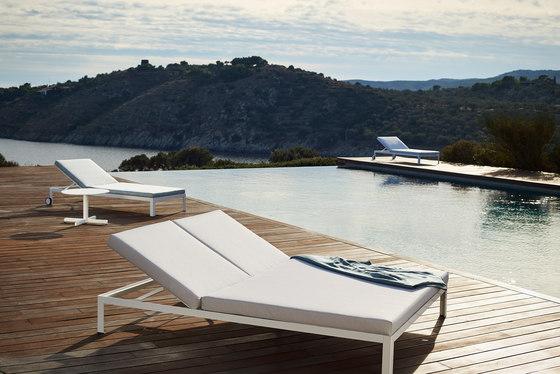 Nak double deckchair by Bivaq | Sun loungers