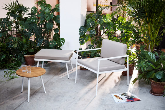 Vint low armchair by Bivaq | Chairs