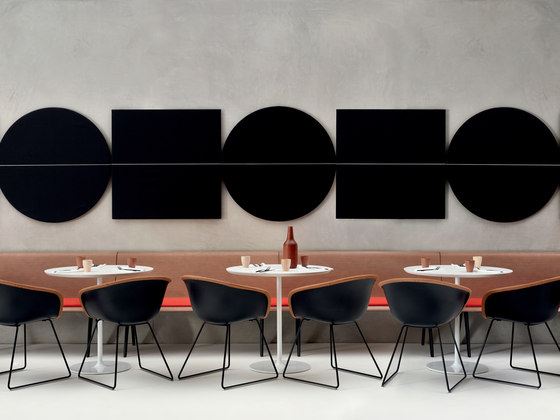 Parentesit wall module by Arper | Sound absorbing wall systems