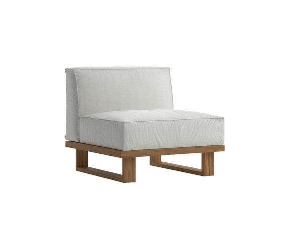 9.ZERO Modular Sofa Central 1S de Atmosphera | Sillones
