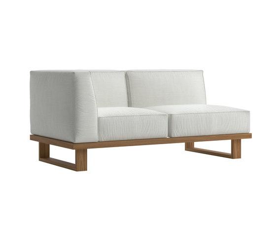 9.Zero Sofá de esquina modular 2 asientos de Atmosphera | Sofás
