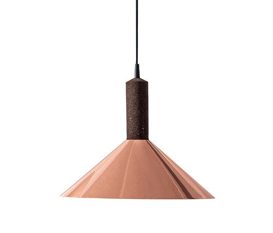 Korlux Cone by Discipline   Suspended lights