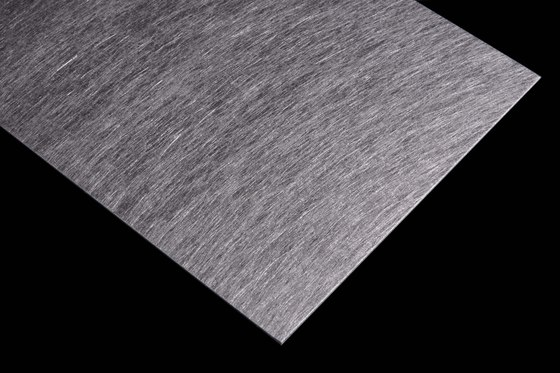 Aluminium | 800 | Angelhair rough- longline de Inox Schleiftechnik | Paneles metálicos