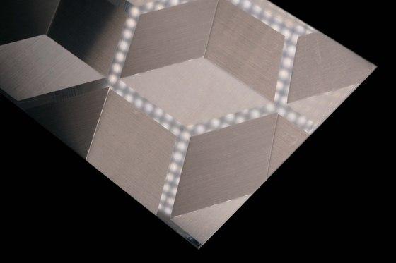 Stainless Steel | 260 | Cube de Inox Schleiftechnik | Paneles metálicos