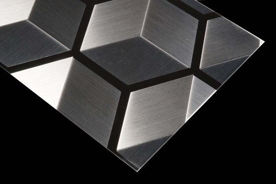 Stainless Steel | 260 | Cube by Inox Schleiftechnik | Metal sheets