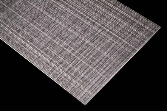 Aluminium | 670 | Hairline Cross-hatch grinding rough de Inox Schleiftechnik | Paneles metálicos