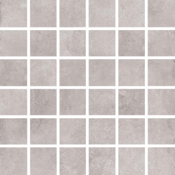 Bibulca | Taupe Mosaico 5x5 cm de IMSO Ceramiche | Mosaïques céramique