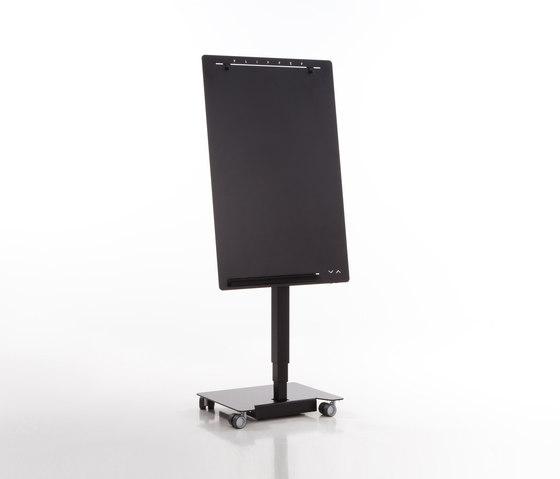 Elektrisch höhenverstellbares, mobiles Flipchart Flipper by Inwerk | Flip charts / Writing boards
