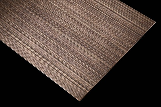 Nordic Brass Weathered | 980 | Hairline fine by Inox Schleiftechnik | Sheets