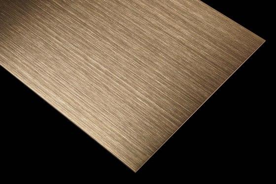 Nordic Brass | 1130 | Hairline medium by Inox Schleiftechnik | Metal sheets
