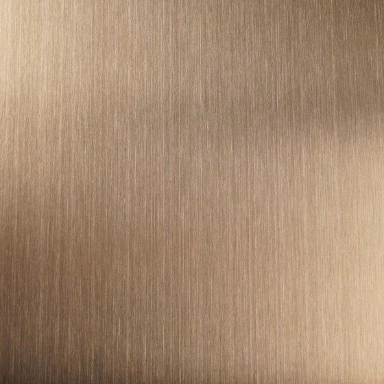 Nordic Brass | 1130 | Hairline medium de Inox Schleiftechnik | Paneles metálicos