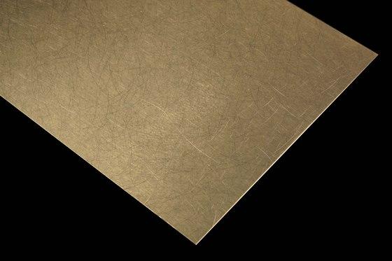 Nordic Brass | 1150 | Angelhair longline glossy di Inox Schleiftechnik | Lamiere metallo