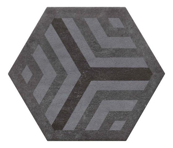 Bibulca | Esagona Frame 21x18 cm de IMSO Ceramiche | Carrelage céramique