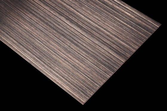 Nordic Brown | 980 | Hairline fine de Inox Schleiftechnik | Paneles metálicos