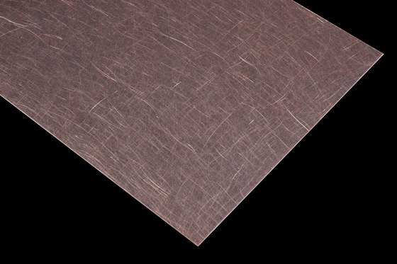 Nordic Brown | 990 | Angelhair longline soft by Inox Schleiftechnik | Metal sheets