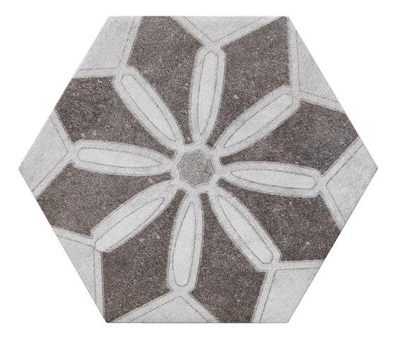 Bibulca | Esagona Latin 21x18 cm von IMSO Ceramiche | Keramik Fliesen