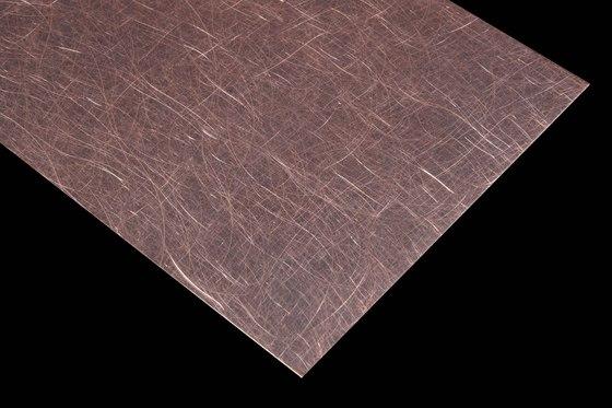 Nordic Brown | 1150 | Angelhair longline glossy by Inox Schleiftechnik | Metal sheets
