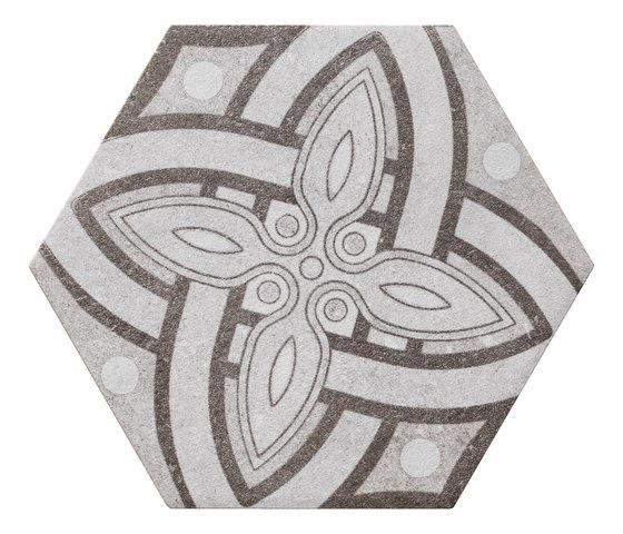 Bibulca | Esagona Latin 21x18 cm de IMSO Ceramiche | Carrelage céramique