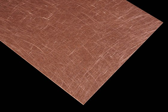 Nordic Brown Light | 1150 | Angelhair longline glossy by Inox Schleiftechnik | Metal sheets