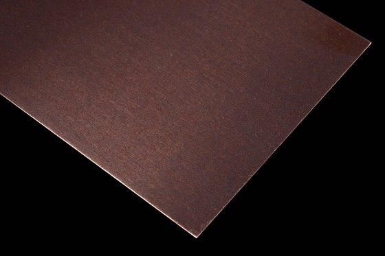 Nordic Brown Light by Inox Schleiftechnik | Metal sheets