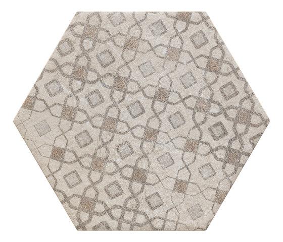 Bibulca | Esagona Orient 21x18 cm de IMSO Ceramiche | Carrelage céramique