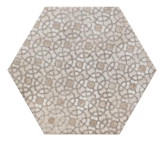 Bibulca | Esagona Orient 21x18 cm von IMSO Ceramiche | Keramik Fliesen